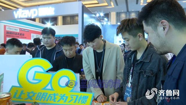 山东电视台报道济南电子烟展:36家品牌签约代理千余家