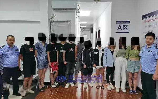 湘阴警方连破两起吸食新型毒品案,抓获涉毒人员11名