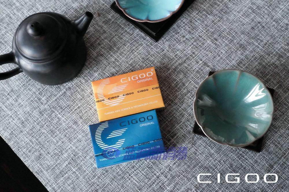 蓝洞电子烟巡展之沈阳站品牌巡礼:喜科CIGOO加热不燃烧