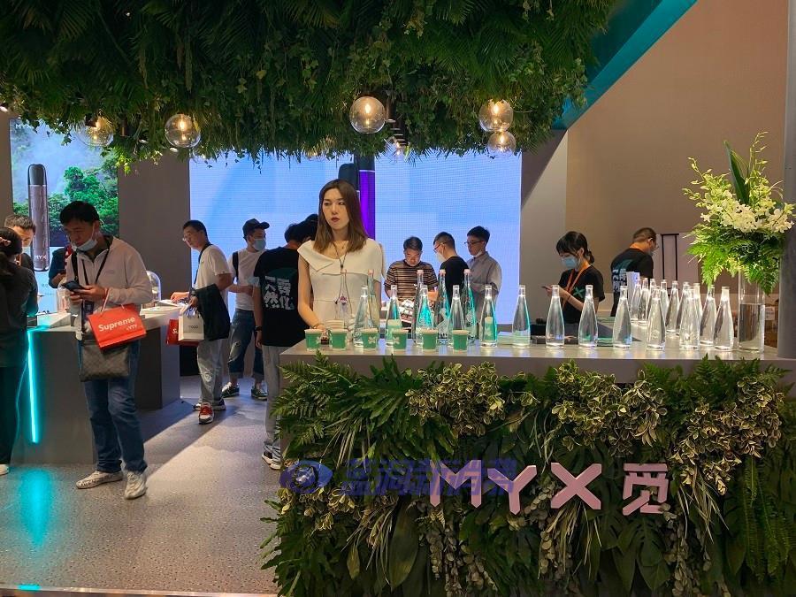 北京站探展MYX觅:天然水雾化液、达芬奇探索系列重磅亮相